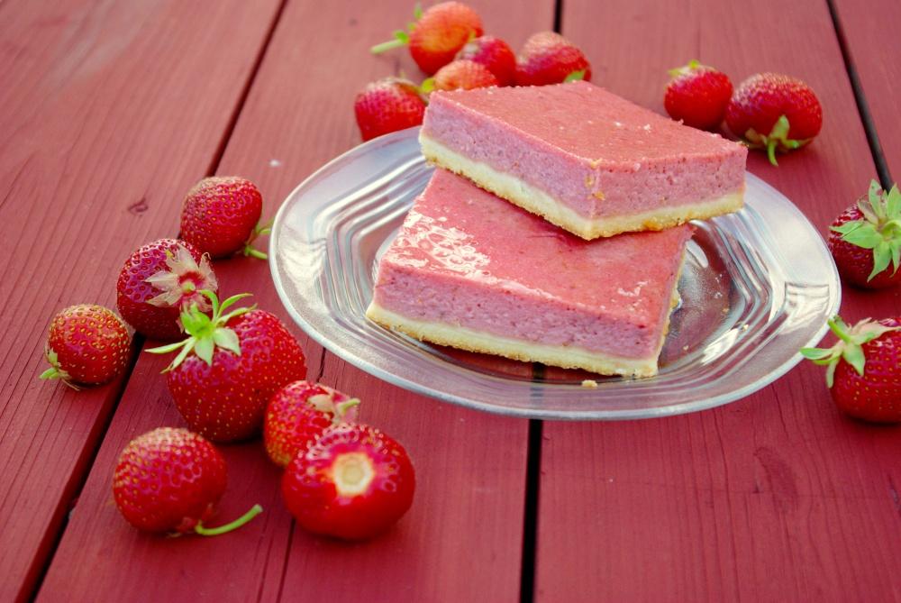 Sidruni-maasika ruudud